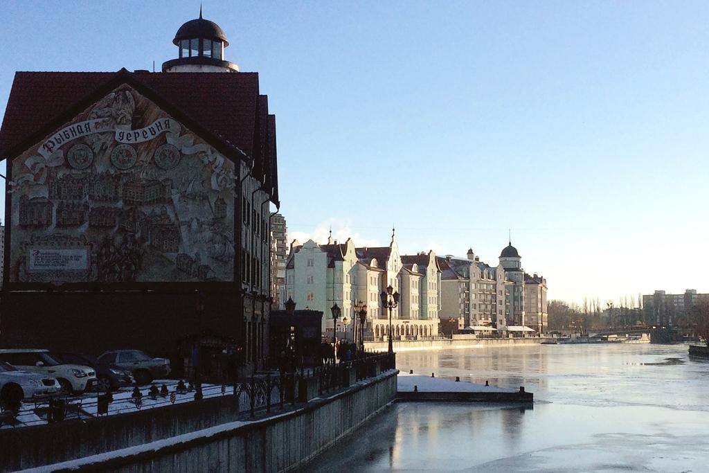 Достопримечательности Калининграда зимой