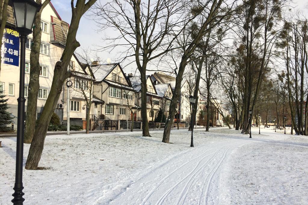 Зимние пейзажи Калининграда