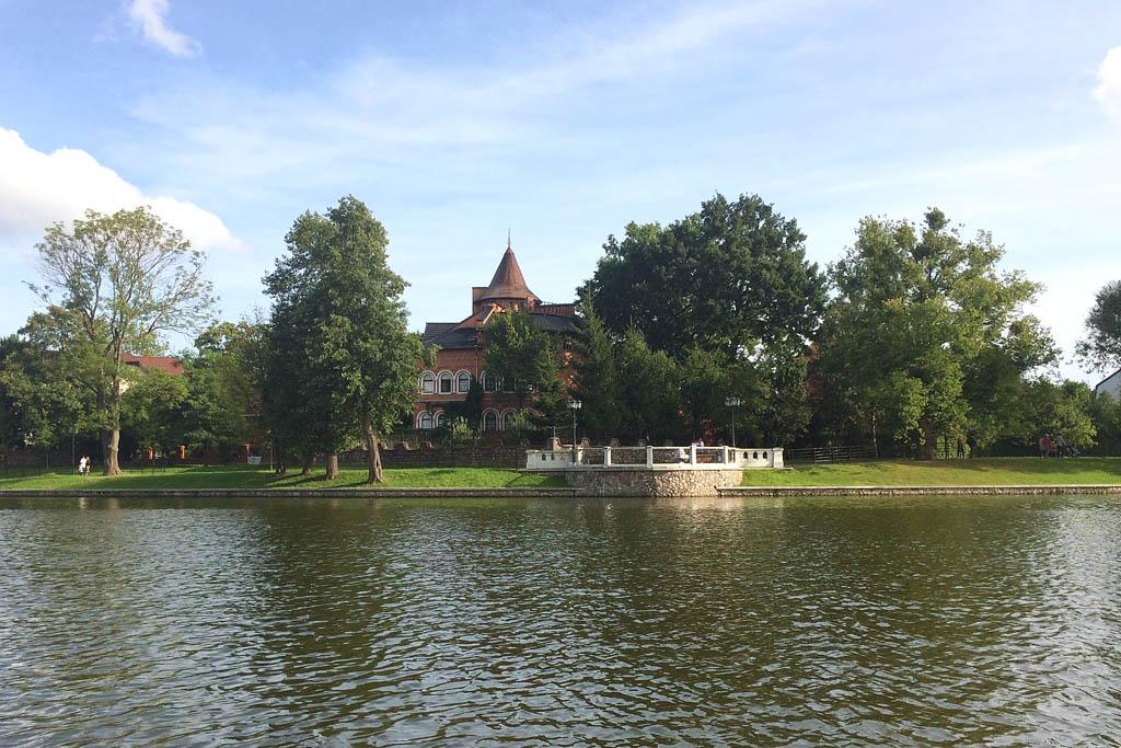 Дом на Верхнем озере в Калининграде