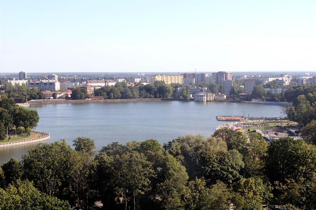 Калининград. Район Верхнего озера