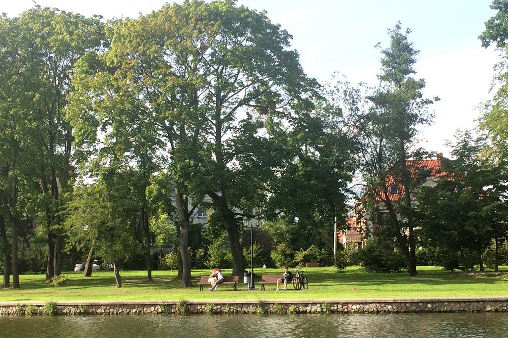Парк рядом с Верхнем озером