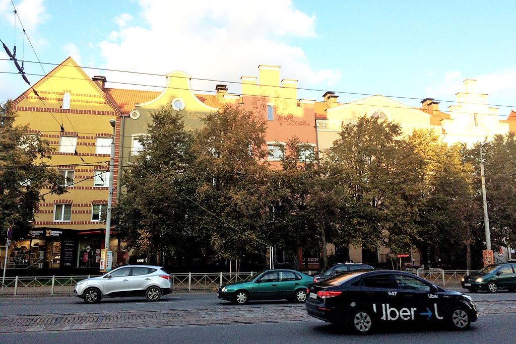 Из Калининграда в Зеленоградск на такси