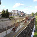 Северный вокзал в Калининграде