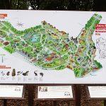 Карта Калининградского зоопарка