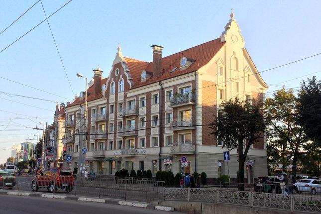 Новые дома на Ленинском проспекте