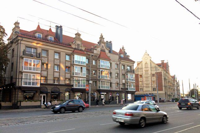 Ленинский проспект в Калининграде