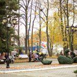 Центральный парк Калининграда осенью