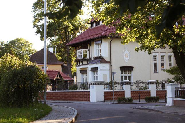 Вилла Шмидт в районе Амалиенау