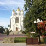 Храм на центральной площади Калининграда