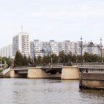 Деревянный мост через р. Преголя