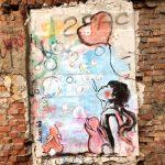 Граффити на набережной Маринеско