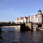 Юбилейный мост в Калининграде