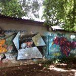 Граффити на Нинем озере