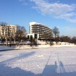 Зима на Нижнем озере
