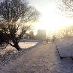 Зимний пейзаж на Нижнем озере