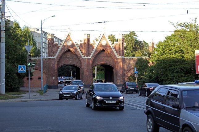Калининград Бранденбургские ворота